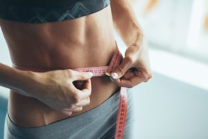 Lose weight without eating staple food