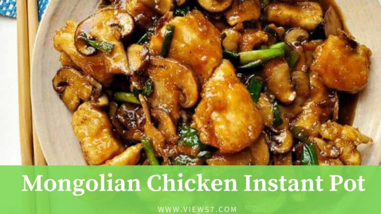 Mongolian Chicken Instant Pot Recipe